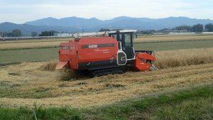 麦刈コンバイン